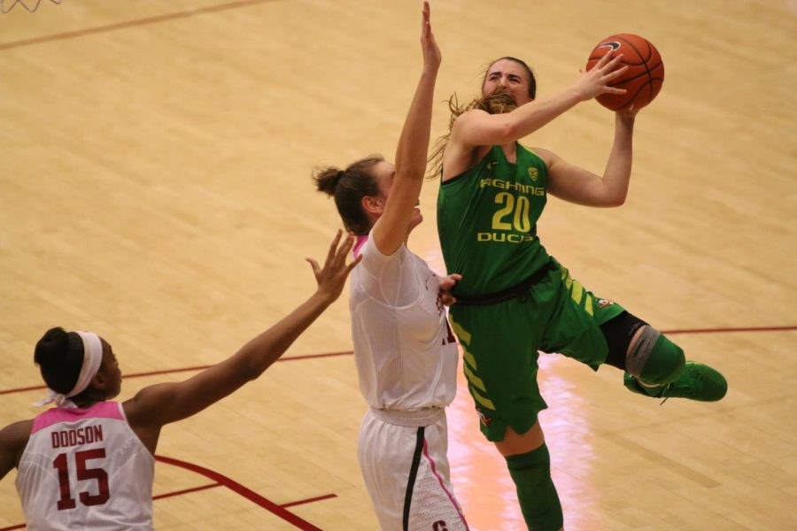 Sabrina Ionescu (above) can be a transcendant basketball star for the WNBA