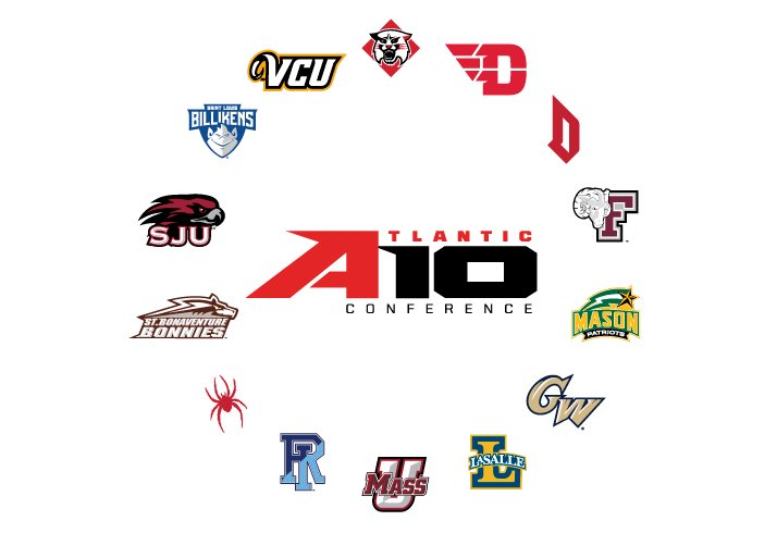 The Atlantic 10 and its member schools will decide when it is safe to resume team practices and athletic events. (Courtesy of the Atlantic 10 Conference)