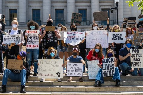 Protests in response to the death of George Floyd have taken place across the United States (Courtesy of Flickr).