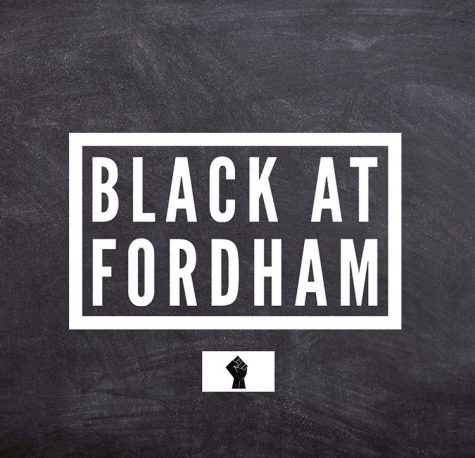 The Instagram page @blackatfordham catalogues students