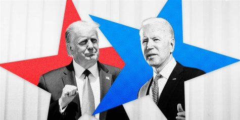 Former Vice President Joe Biden faced President Trump in the first debate on Tuesday. (Courtesy of Twitter)