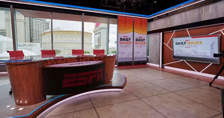 """Shows like ESPN's """"The Daily Wager"""" have further introduced fans to the popularity of sports betting. (Courtesy of Twitter)"""