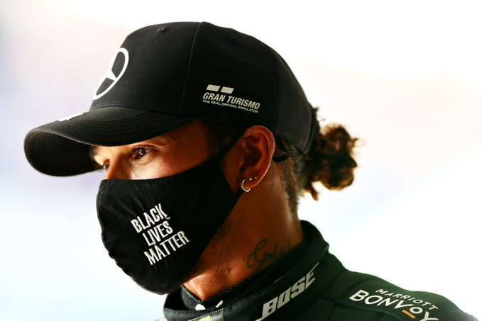 Lewis Hamilton (above) is the all-time leader in Formula 1 Grand Prix wins. (Courtesy of Twitter)