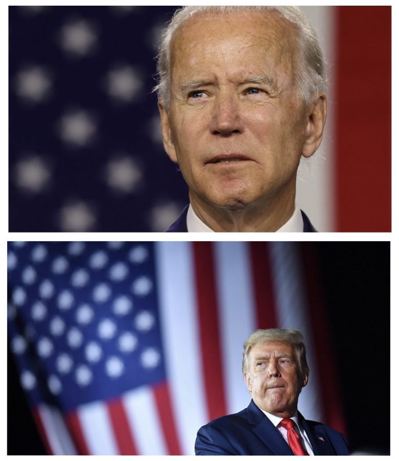 The competition is going strong between President Trump and former Vice President Joe Biden (Courtesy of Twitter).