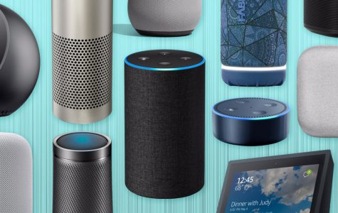 Google and Amazon both sell their own versions of a smart speaker. (Courtesy of Facebook)